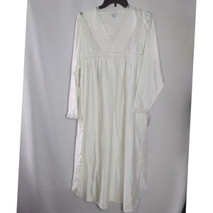 Christian Dior Vintage Ivory Nightgown NWT Sz M